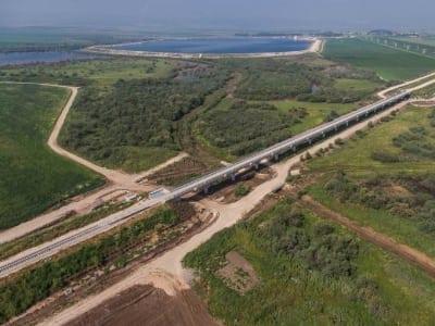 רכבת העמק - מבט על על הסביבה הירוקה