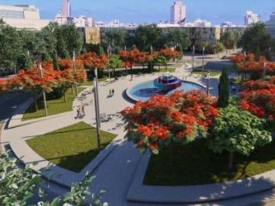 תמונת הדמיה של הנמכת כיכר דיזינגוף